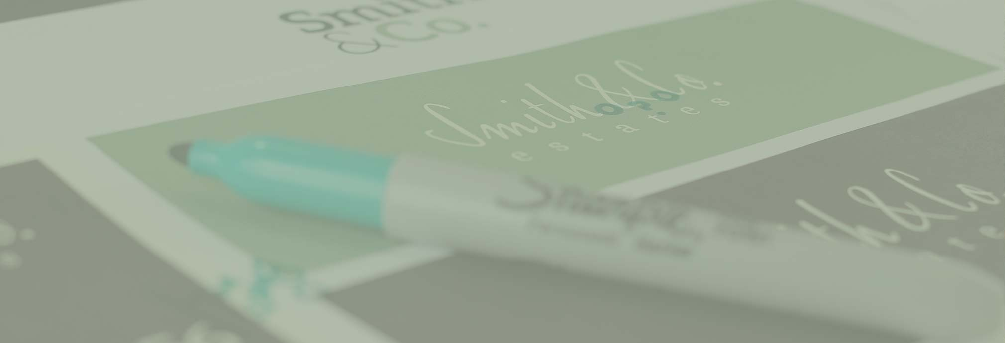 Estate Agency Branding for Smith & Co