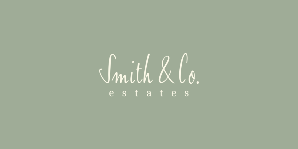 Smith & Co Estates Branding