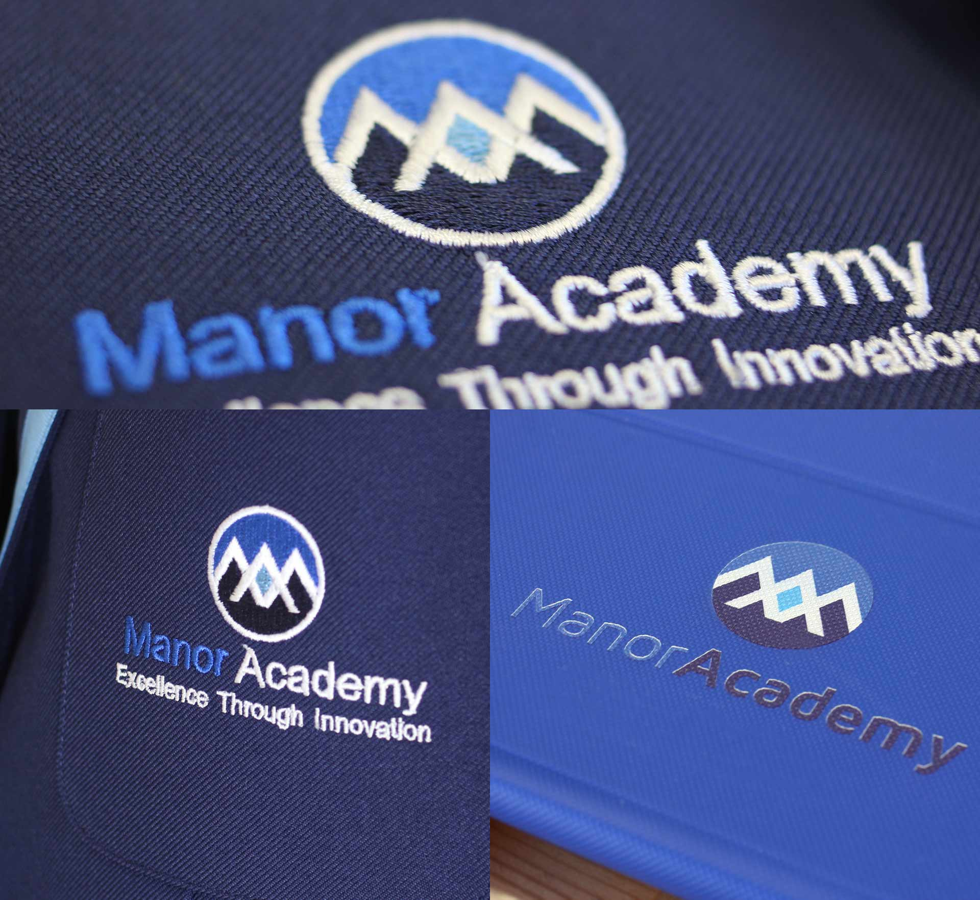 Manor School Branding