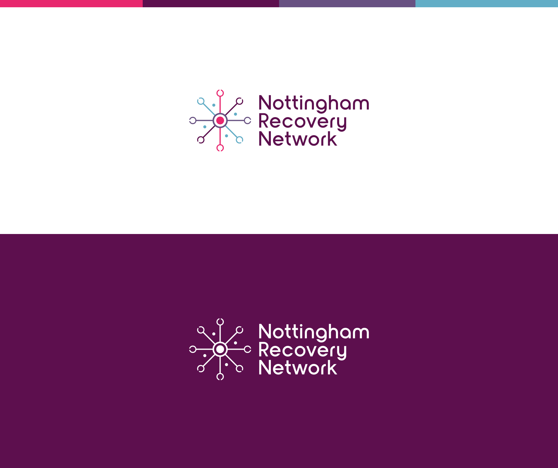 Nottingham Recovery Network logo design